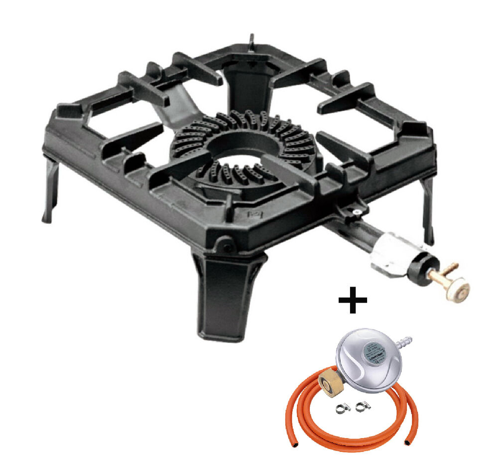 8kw Cast Iron Gas Boiling Ring Large Stove Burner Lpg
