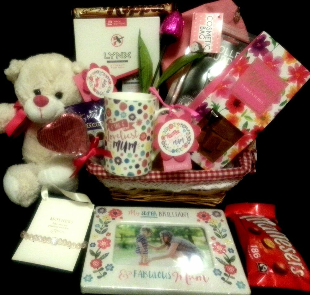 Mothers day gift hamper for her chocolates gifts for mom for Luxury gifts for mom