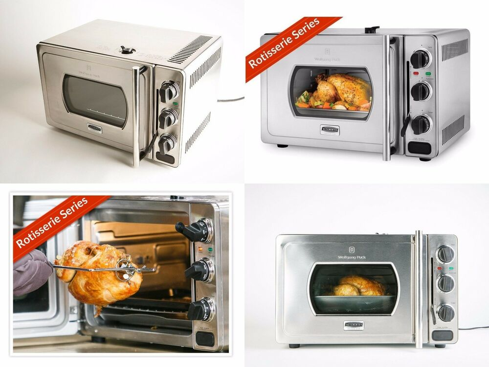 Wolfgang Puck Rotisserie Pressure Oven 29 Liter Stainless