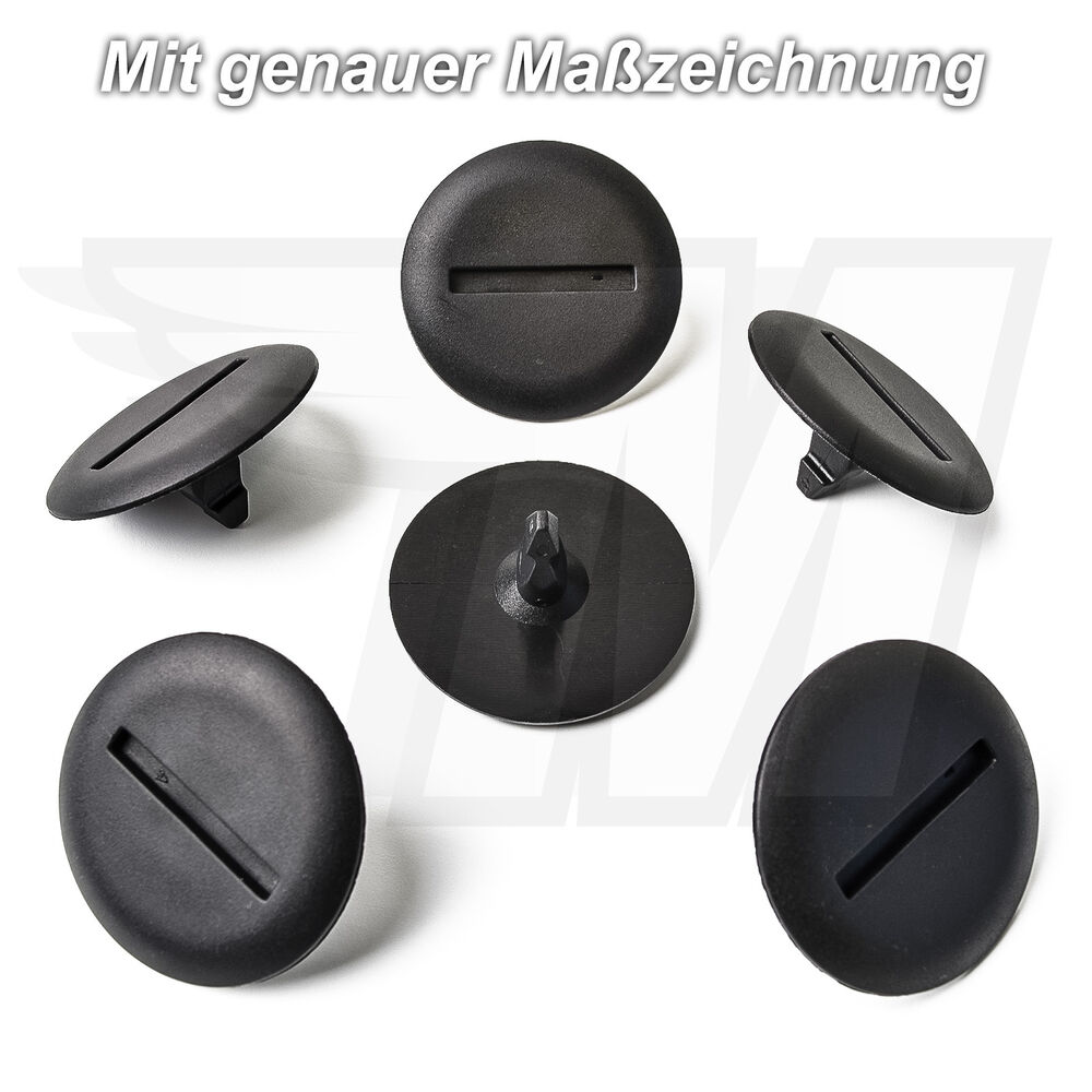 5x aussen verkleidung clips halterung f r mercedes benz a0009917498 745572296832 ebay. Black Bedroom Furniture Sets. Home Design Ideas