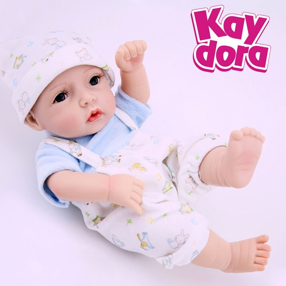 10 Quot Real Life Baby Boy Dolls Full Body Soft Silicone Vinyl