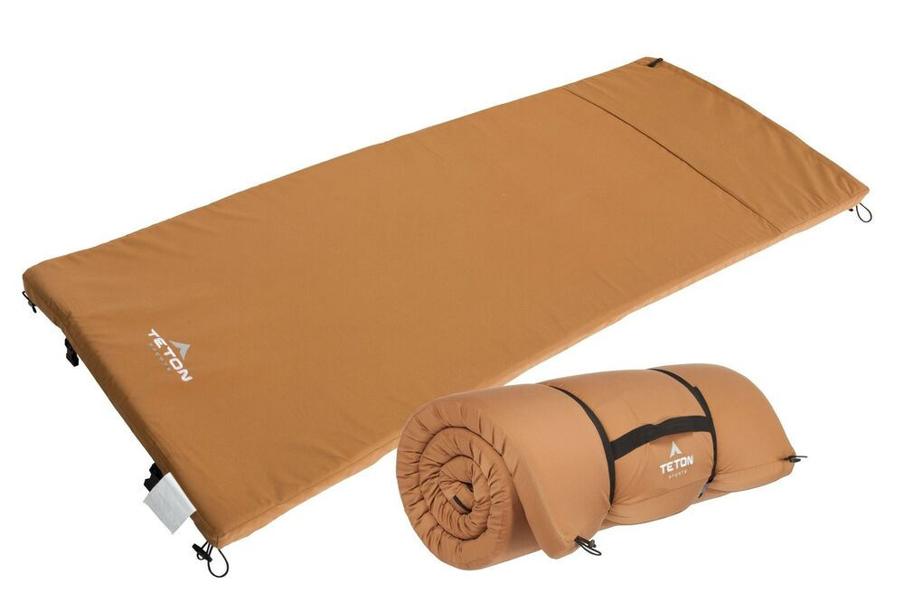 Teton Sports Camp Pad Camping Sleeping Pad Or Mat Canvas