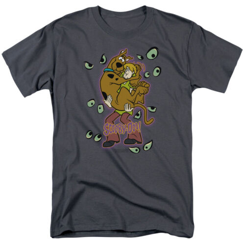 SCOOBY DOO BEING WATCHED Licensed Adult Men's Graphic Tee Shirt SM-5XL