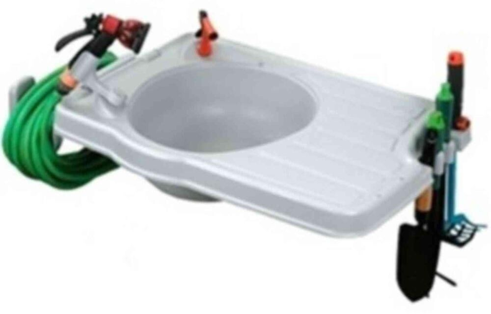 Outdoor garden watering portable equipment plastic sink for Outdoor garden equipment