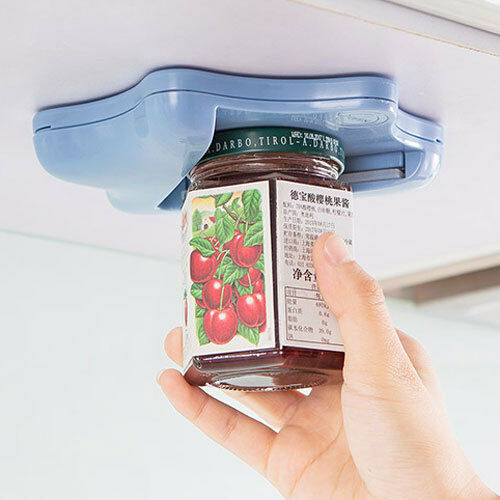 Jar Opener For Under The Kitchen Cabinet