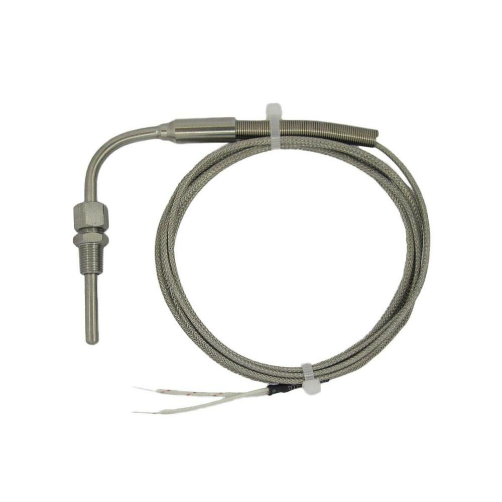 j type thermocouple temp sensors for exhaust gas with 90