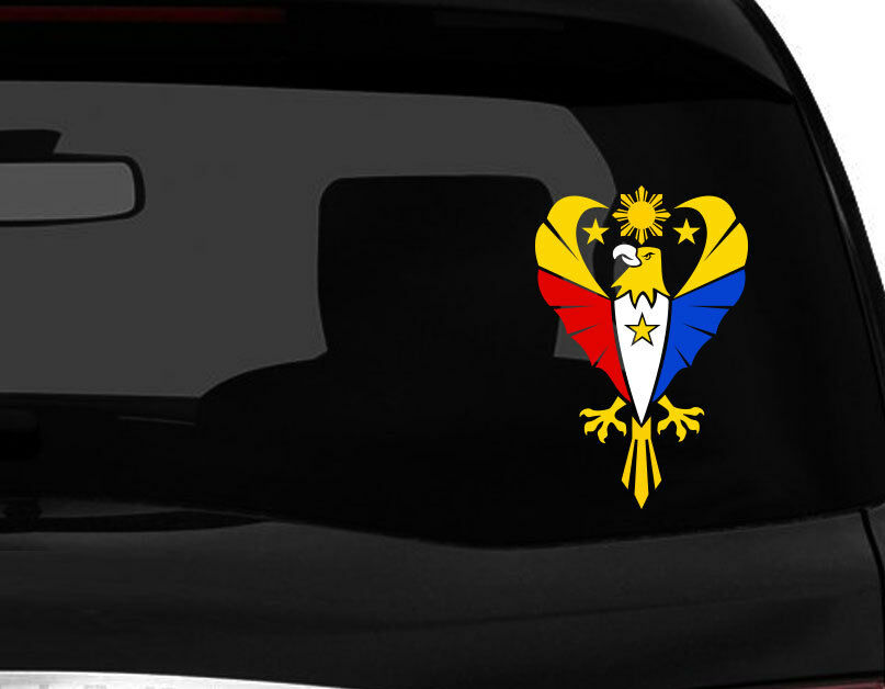 Philippine Vinyl Car Decal Sticker 8 Quot H With Eagle 2