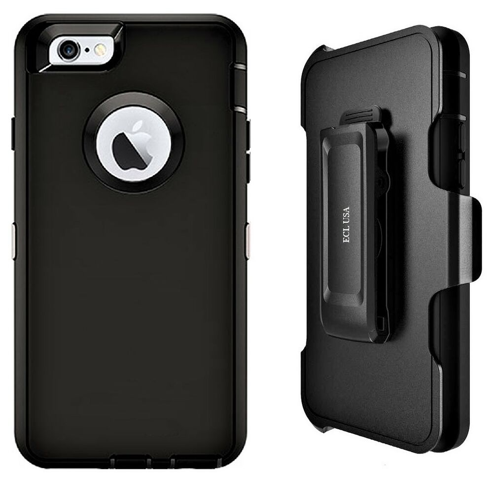ecl usa iphone 6s plus 6 plus case with belt clip holster. Black Bedroom Furniture Sets. Home Design Ideas
