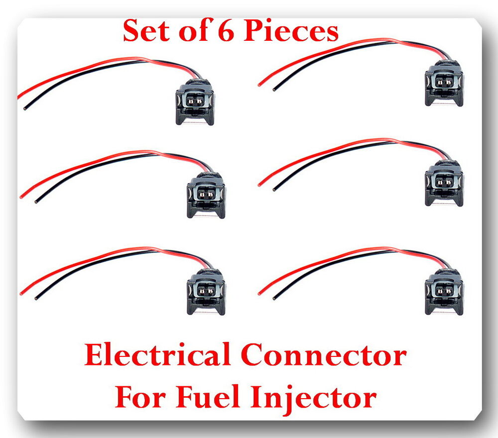 Set of kit electrical connector for fuel injector fj