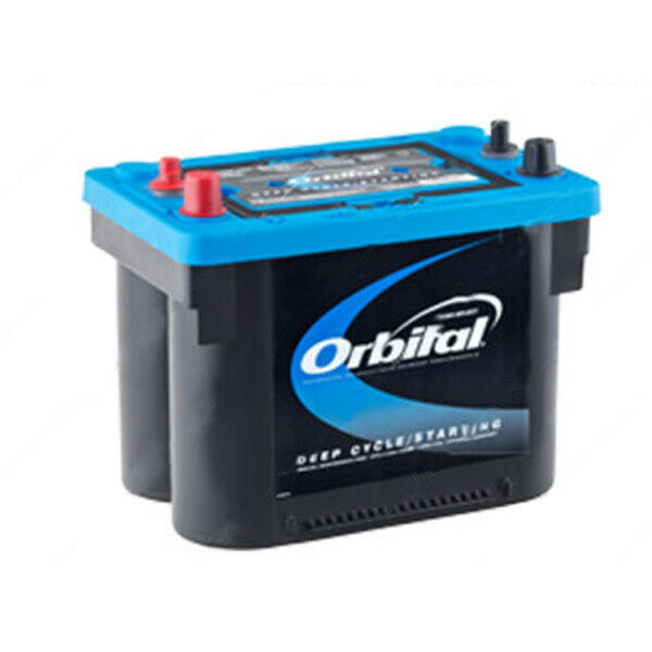 Dry Cell Car Batteries ... Deep Cycle & Starting Battery Sealed Spiral Cell 750CCA 50AH | eBay