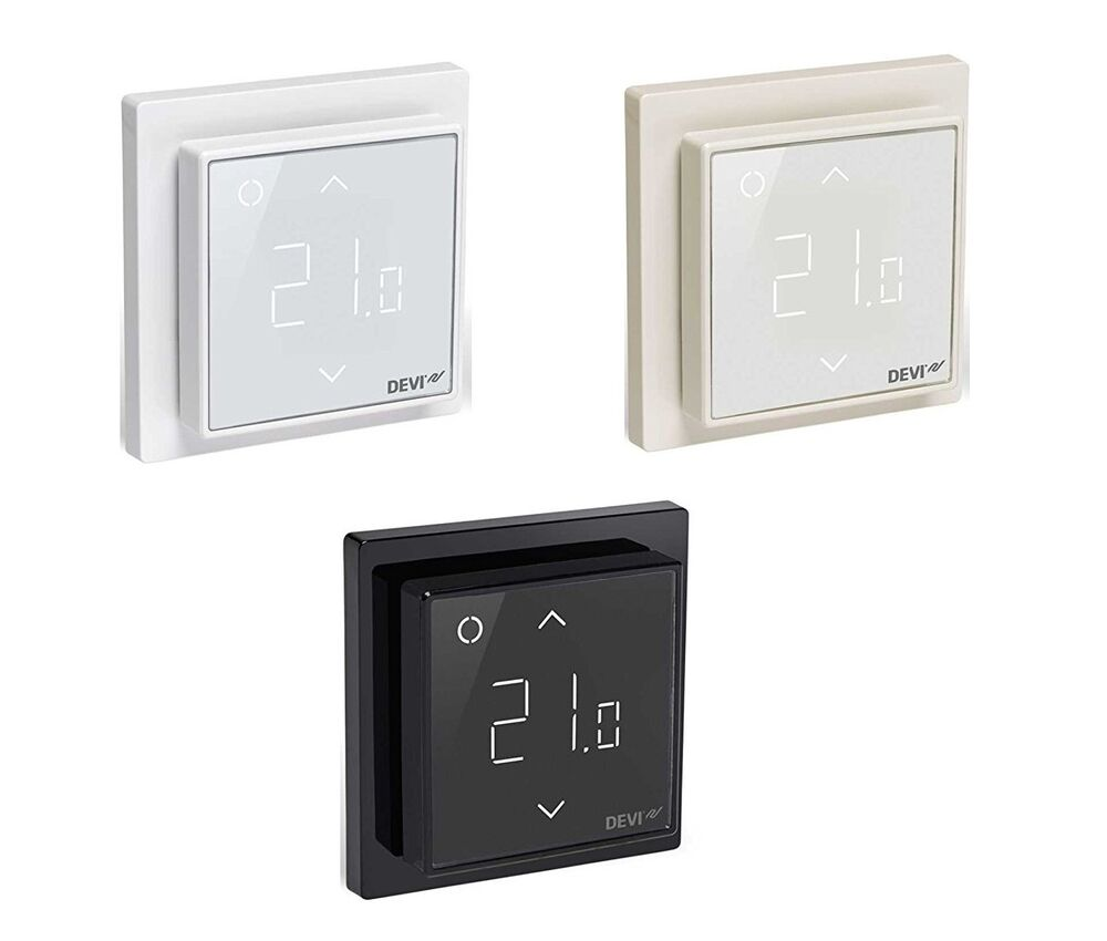 devireg smart wlan thermostat f r elektro fu bodenheizung ebay. Black Bedroom Furniture Sets. Home Design Ideas