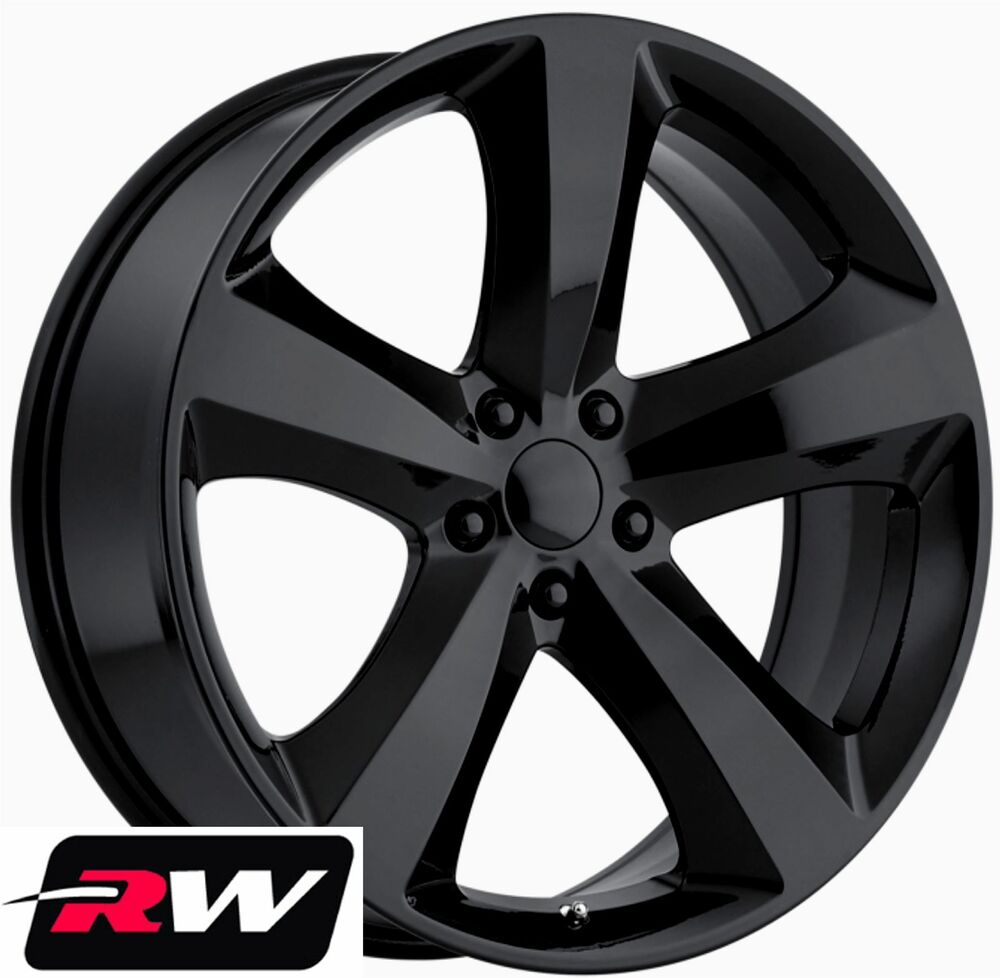 dodge charger wheels 20 inch 2011 challenger r t replica black rims fit charger ebay. Black Bedroom Furniture Sets. Home Design Ideas