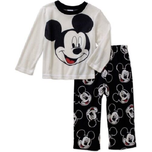 869228fb54 Details about Disney Mickey Mouse 2 Piece Toddler Boy s Pajama Set Size- 3T  NWT