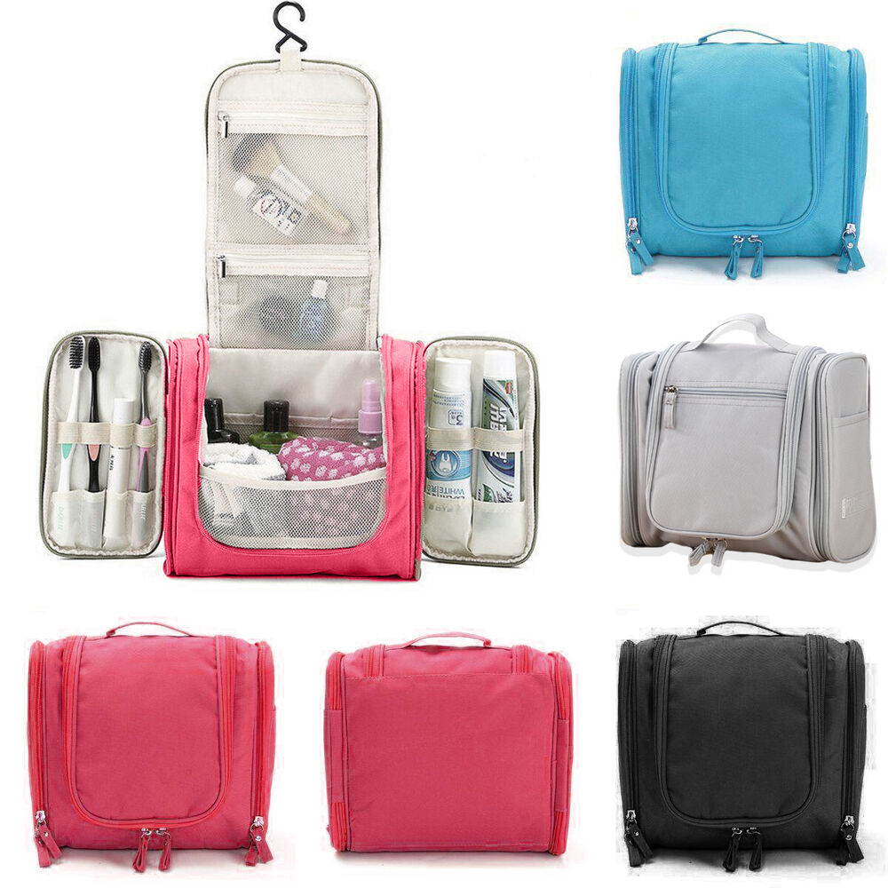 Makeup Travel Storage Bag Cosmetic Jewelry Wash Hanging
