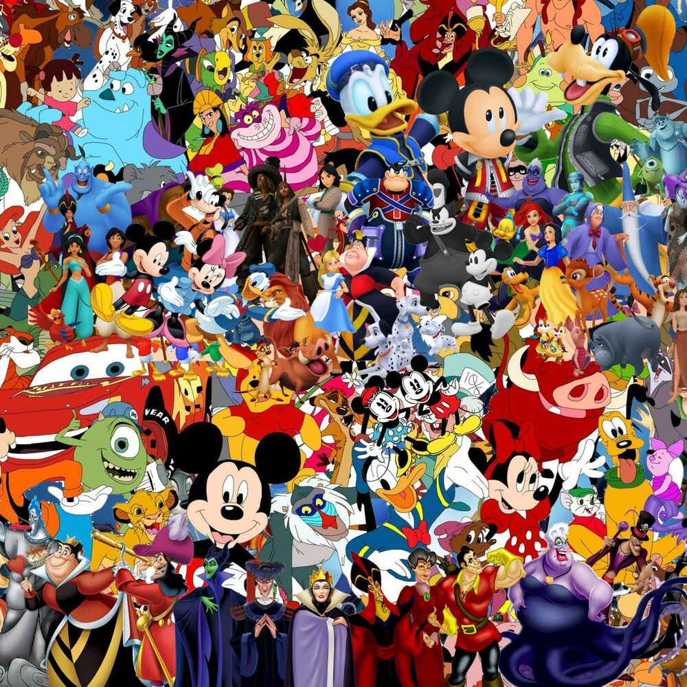 Details about disney 500mm by 500mm sticker bomb sheet euro vinyl decal vw honda dub drift