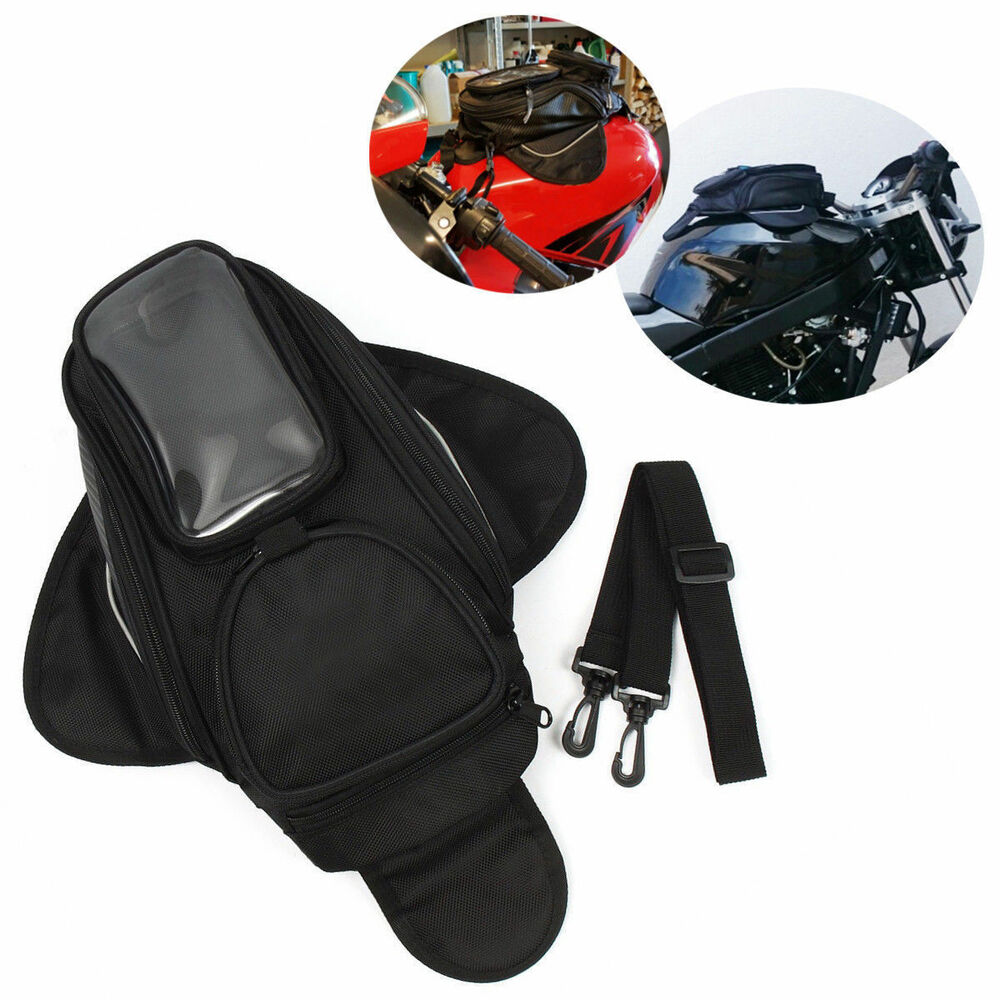 Motorcycle Magnetic Tank Bag With Gps Phone Pouch