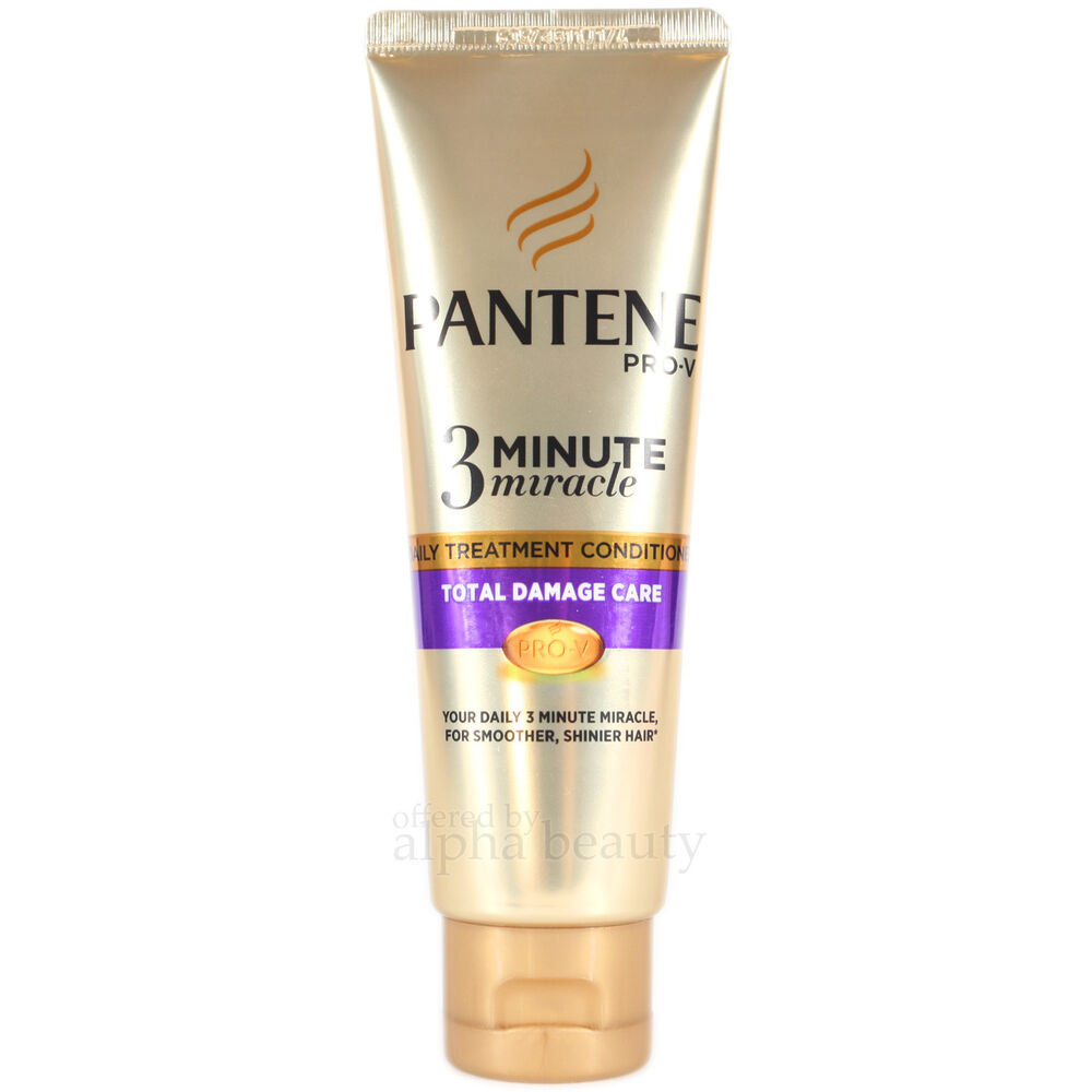 Pantene ProV 3 Minute Miracle Daily Treatment Conditioner 70ml\/2.3 fl.oz. SP 4902430694995  eBay