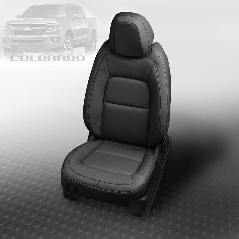 Details About 2017 2016 2018 Chevy Colorado Lt Z71 Katzkin Leather Seat Covers