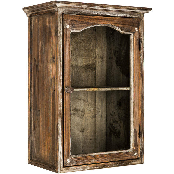 Http Www Ebay Com Itm Natural Wood Cabinet With Shelf Shabby Chic Home Decor 172566373962