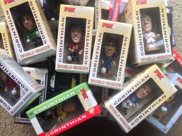 CORINTHIAN PROSTARS COLLECTOR CLUB 2004 MEMBERSHIP FOOTBALL FIGURES