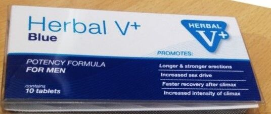 Herbal Blue V+ | eBay