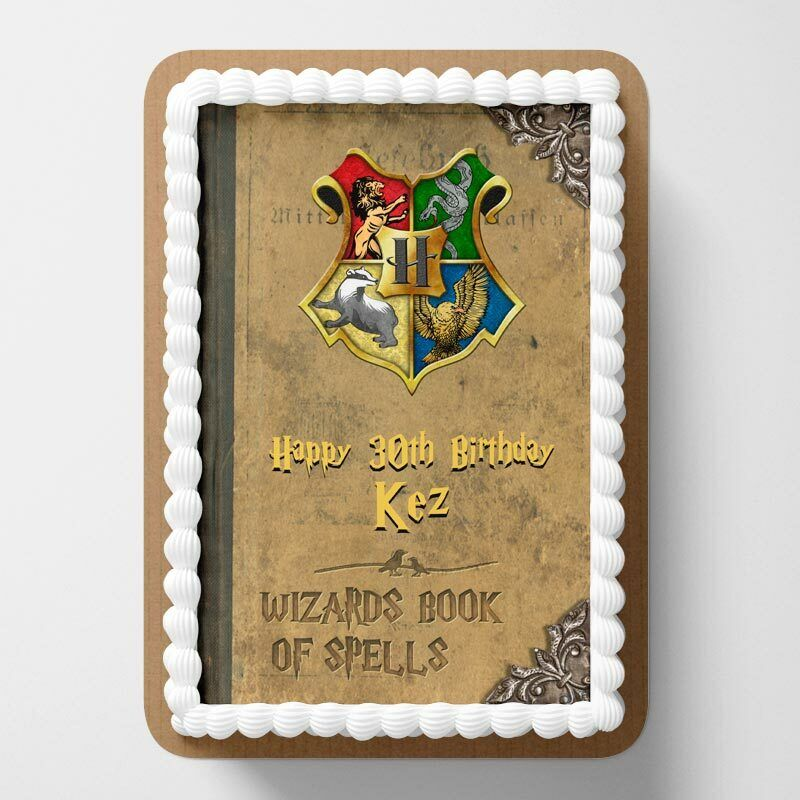 Harry Potter Edible Cake Topper