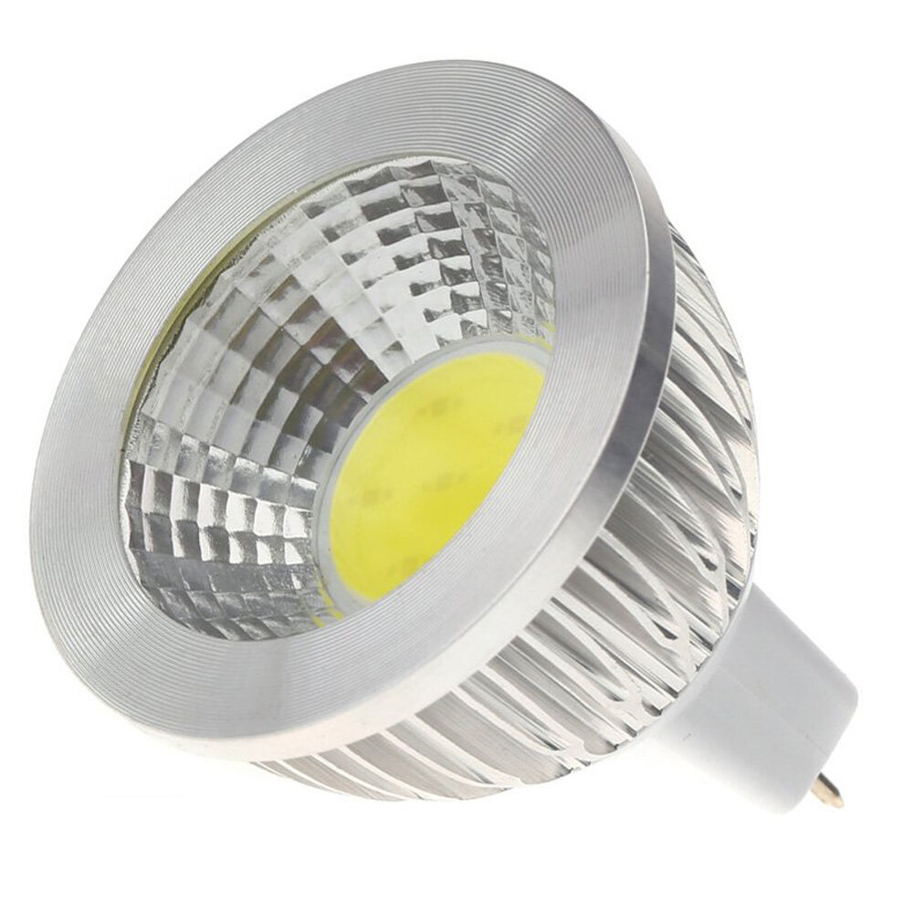 mr16 5w cob led spotlight energy saving high power lamp bulb 12v ac white e2q2 190268020657 ebay. Black Bedroom Furniture Sets. Home Design Ideas