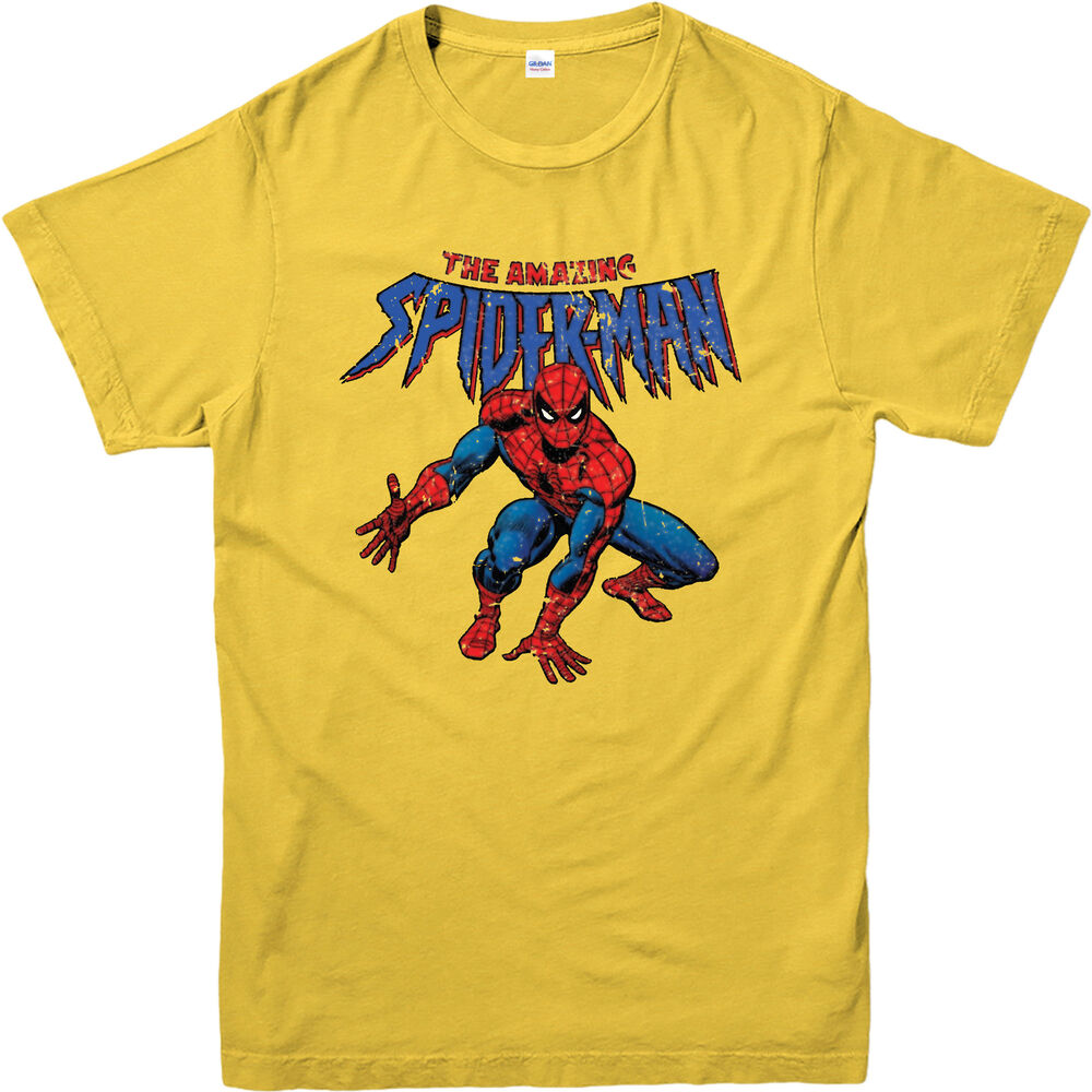 Amazing T Kids And Adult Spiderman Shirt marvel Spiderman Comics the MzqVSGUp