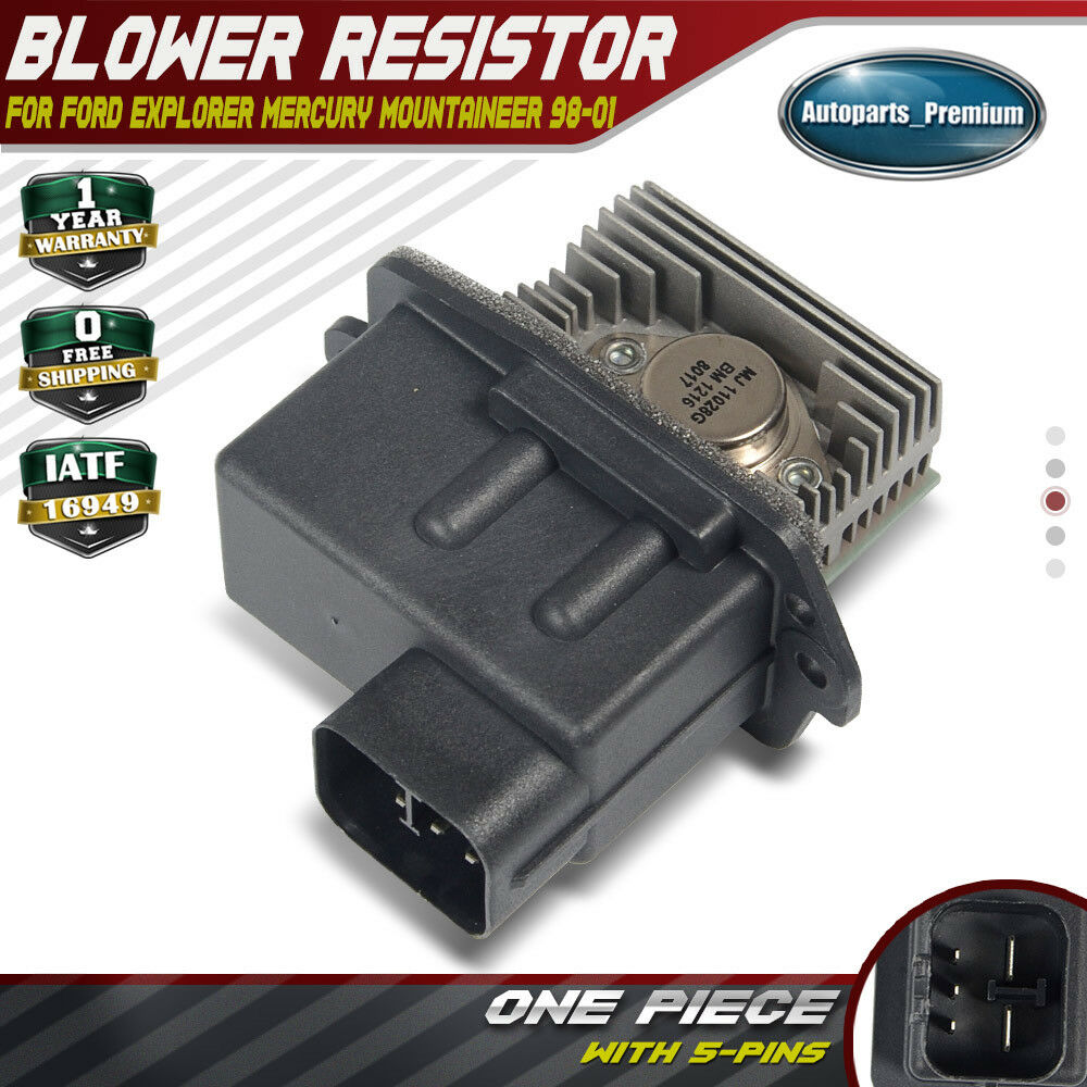 A  C Heater Blower Motor Resistor For Ford Explorer Mercury Mountaineer 1998