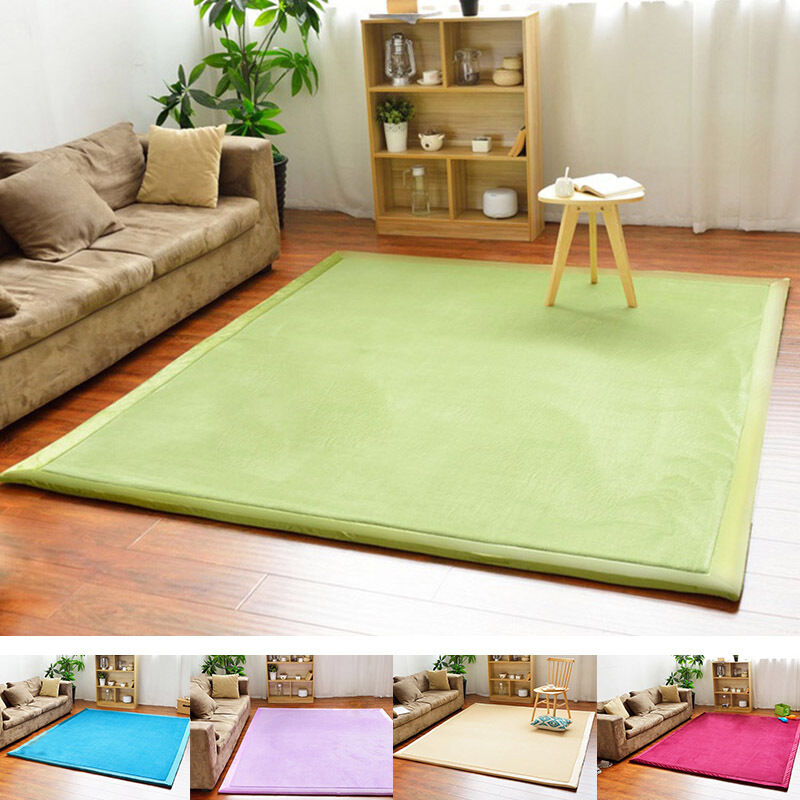 mat for living room new area rug tatami carpet coral fleece 13748