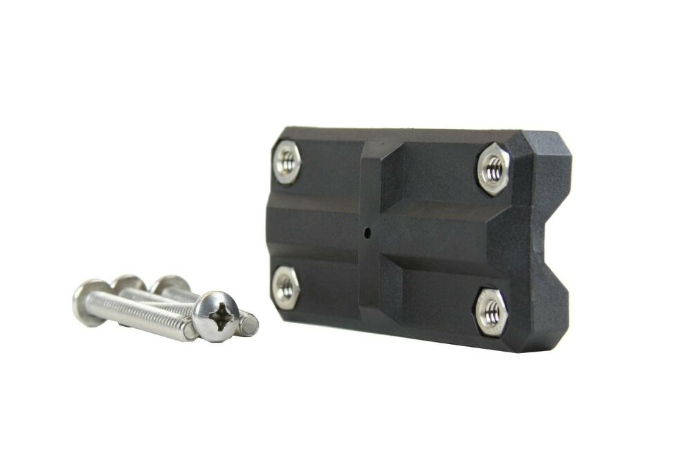Folbe rail mount kit for rod holder mounting to 3 4 to 1 for Fishing rod accessories