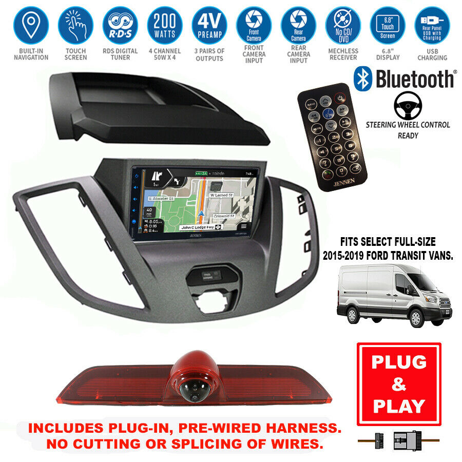 Gps Navigationbluetooth Usb Stereobackup Cameraford Transit Radio Rhebay: Ford Transit Replacement Radio At Gmaili.net