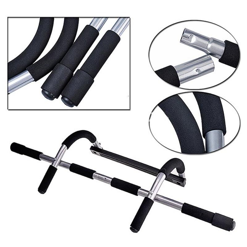 Chin Up Bar Crivit: 2017 Heavy Duty Doorway Chin Pull Up Bar Exercise Fitness