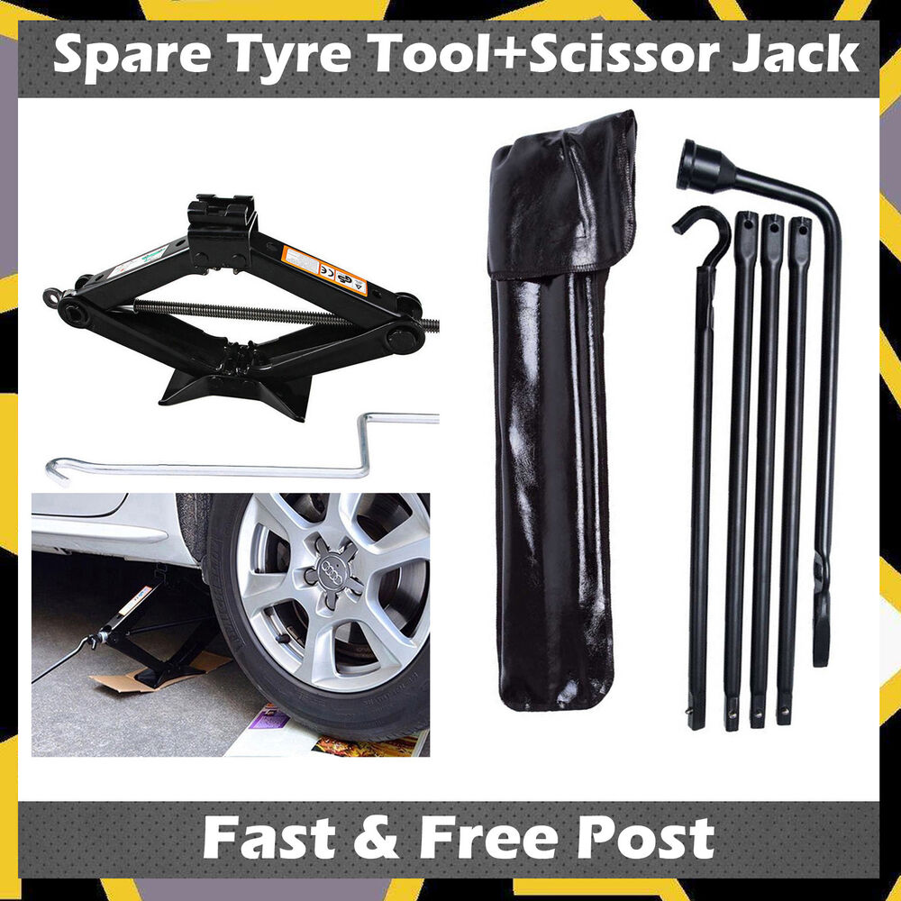 2017 New Type Spare Tire Tool Kit For 02-15 Dodge Ram 1500
