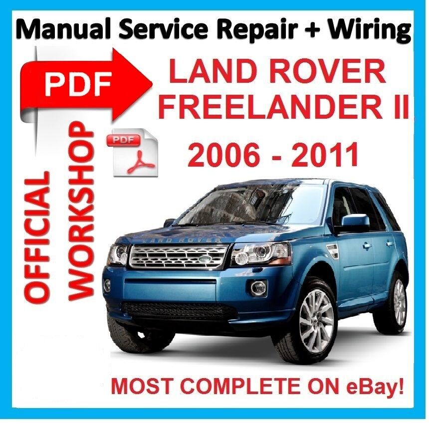 Land Rover Freelander 1: # OFFICIAL WORKSHOP MANUAL Service Repair FOR LAND ROVER