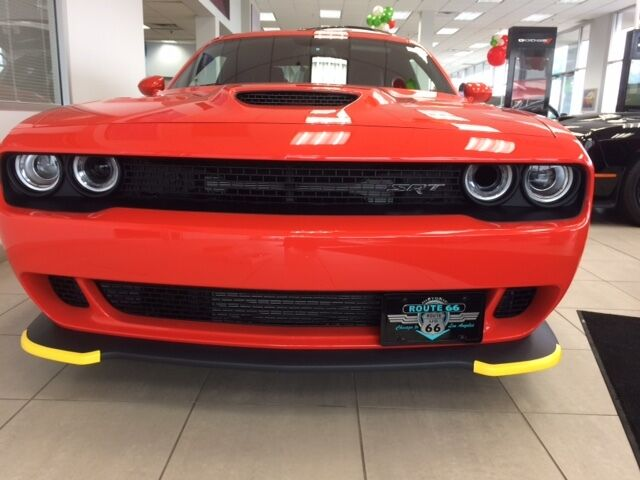 2015 2016 2017 Dodge Challenger Hellcat License Plate