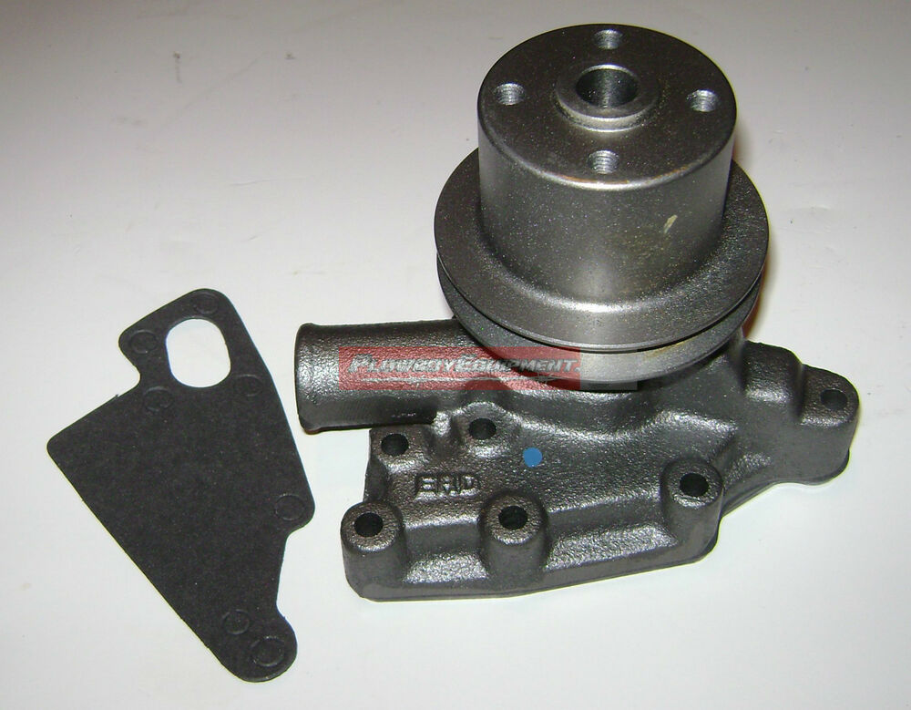 Ford 1600 Tractor Parts List : Sba water pump w pulley gasket for ford tractor