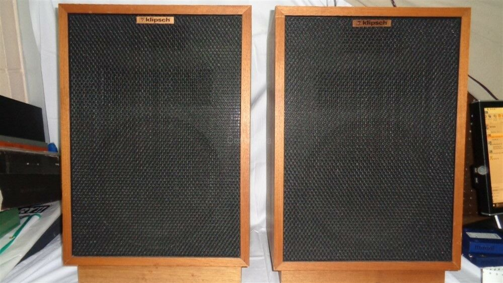 dating klipsch heresy speakers Klipsch heresy iii loudspeaker  it was the first non-corner speaker that paul w klipsch designed, and thus it was considered heretical in the sense of violating .