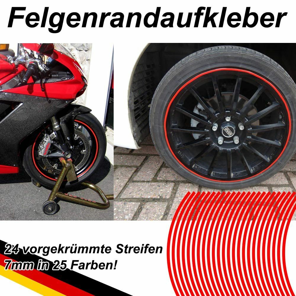 prem felgenrandaufkleber felgen aufkleber motorrad auto. Black Bedroom Furniture Sets. Home Design Ideas