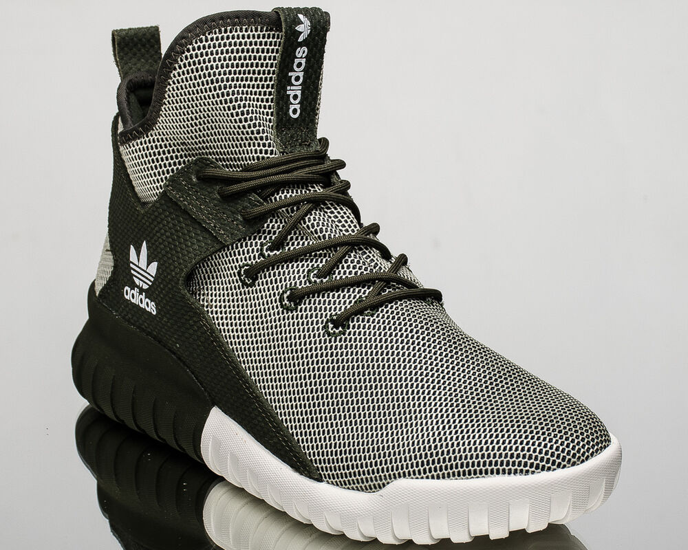 new concept 18458 38cea Details about adidas Originals Tubular X lifestyle casual sneakers NEW dark  green BA7781
