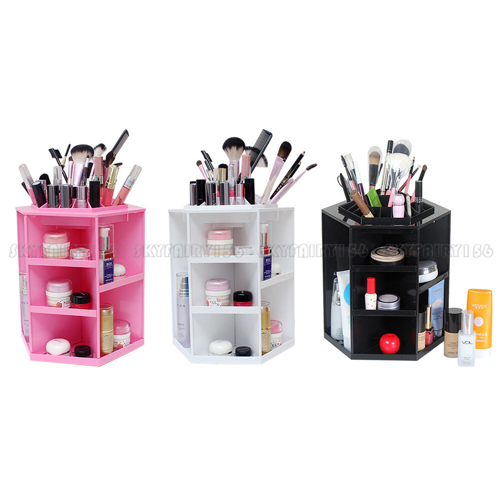 Degree Rotating Cosmetic Organizer Makeup Display