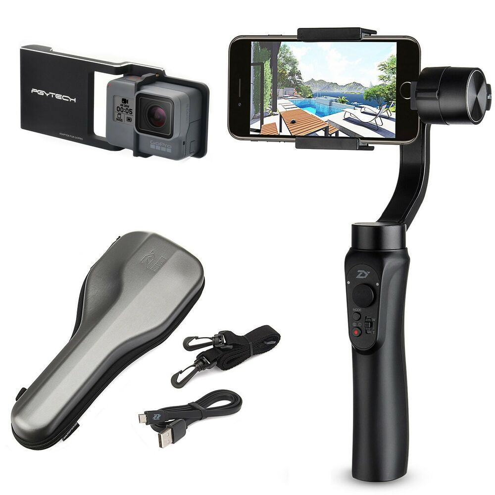 Zhiyun Smooth-Q Gimbal Stabilizer + Plate for Smartphone ...