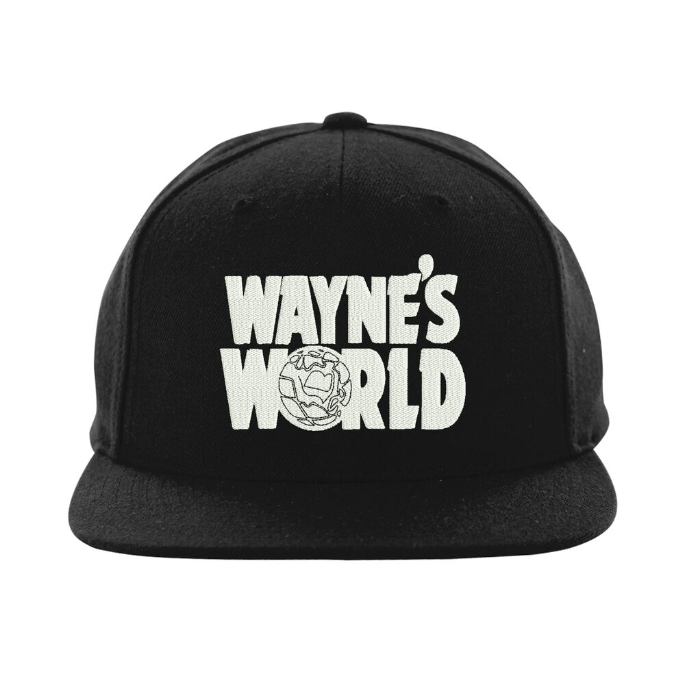 bffdb66e Details about Wayne's World Snapback,Party on Wayne Stock Hat,Embroidered  Design