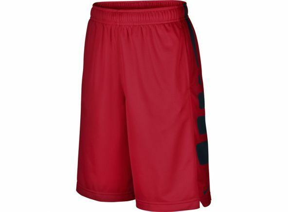 NIKE BOY S ELITE BASKETBALL SHORTS RED BLACK 546649-673 SIZE SMALL ... 2d932245dc4b