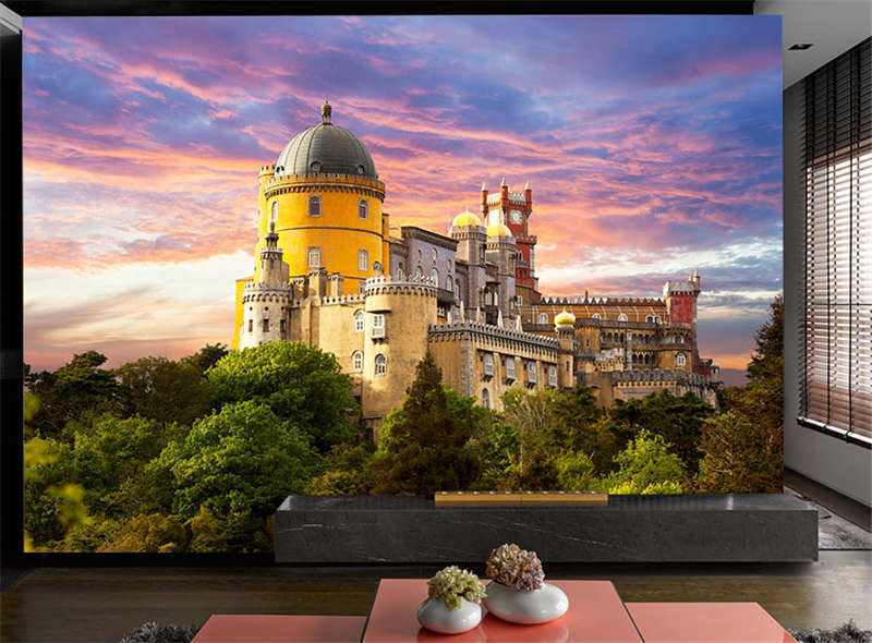 Sintra Portugal Small Countr Full Wall Mural Photo