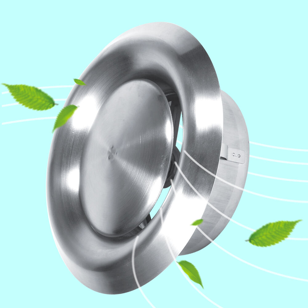 Ventilation Ducts Information : Adjustable wall ceiling stainless steel air vent round