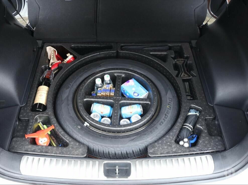 Trunk Underneath Spare Tire Compartment Storage Kit For
