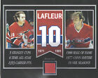 GUY LAFLEUR MONTREAL CANADIENS FORUM SEAT 8 X 10 COA