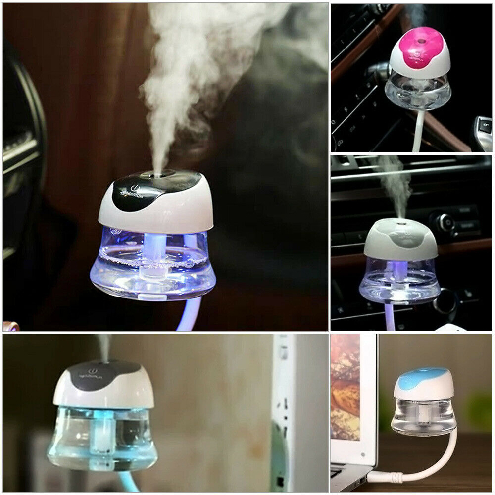portable mini usb car freshener essential oil diffuser air humidifier purifier ebay. Black Bedroom Furniture Sets. Home Design Ideas