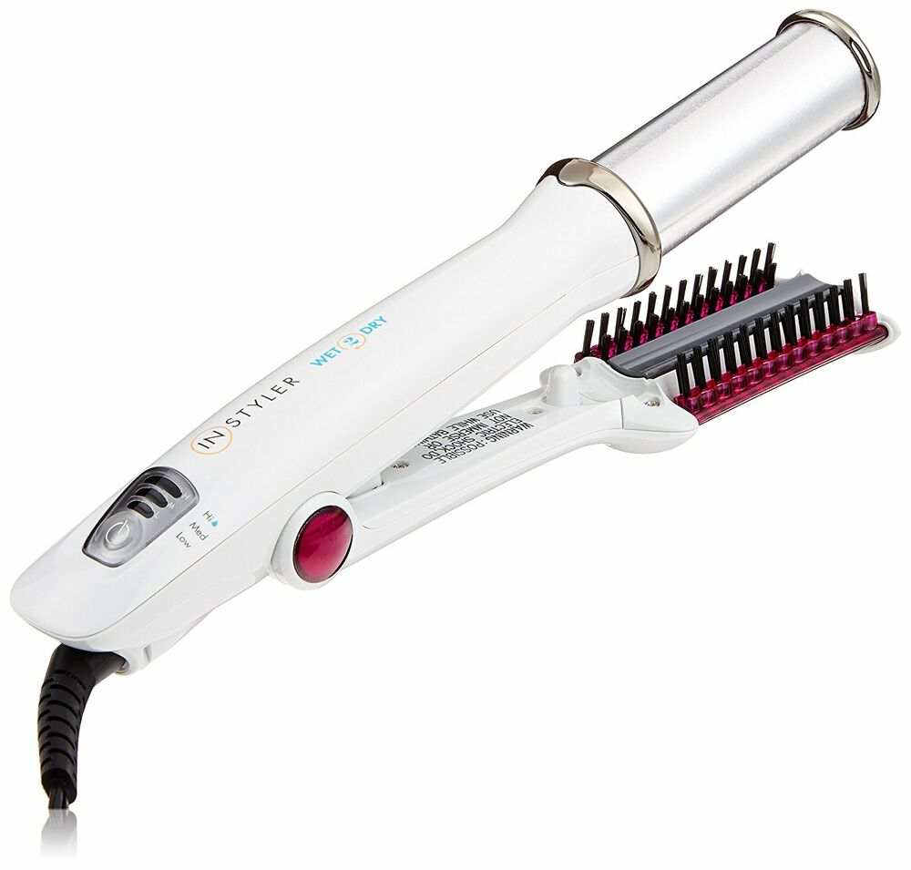 Official Instyler Wet To Dry Rotating Iron 1 1 4 Inch
